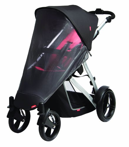 Phil&Teds Uv Mesh Cover For Vibe, Vibe 2 Or Verve Single Stroller - 1