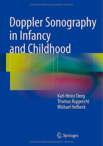Doppler Sonography in Infancy and Childhood PDF