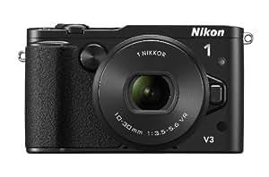 """Nikon 1 V3 Appareil photo numérique hybride 18,4 Mpix Écran LCD 3"""" 10X Noir"""