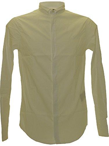 Camicia uomo Armani Jeans, extra slim fit, bianca, art: C6C13NL (XXL, Bianco)