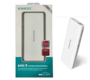 Romoss 10000 mAh Dual USB Output Power Bank For Lenovo Vibe Z2 Pro