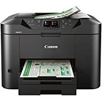 Canon MB2720 Wireless Monochrome Inkjet All-in-One Printer with Duplex