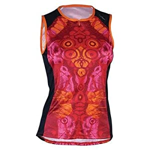 Shebeest 2014 Ladies Bellissima Wings Sleeveless Cycling Jersey - 3311 by Shebeest
