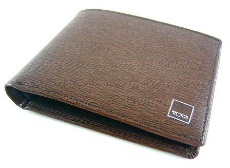 TumiTumi Monaco Brown Double Billfold Wallet
