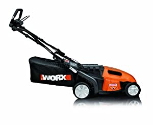 WORX WG789 19-Inch 36 Volt Cordless PaceSetter Self Propelled 3-In-1 Lawn Mower With Removable Battery & IntelliCut from Positec/Worx - Lawn & Garden