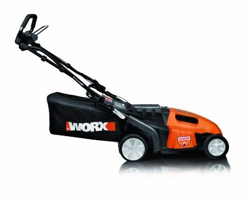 WORX WG789 19-Inch 36 Volt Cordless PaceSetter Self Propelled 3-In-1 Lawn Mower With Removable Battery & IntelliCut image