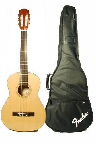 Fender ESC-105 Full Size Classical Guitar with Gigbag- Natural