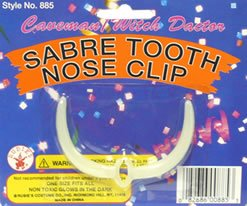 Sabre Tooth Nose Clip