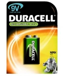 Duracell HR9V - Rechargeable 9V 1 Pack