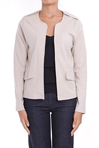 ANTA Q'ULQI - Giacca / Blazer in jersey 100% cotone Pima - beige, XL
