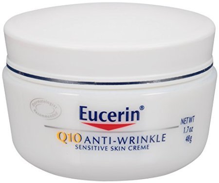 Eucerin Q10 Anti-Wrinkle Sensitive Skin Creme, 1.7 oz. - 1