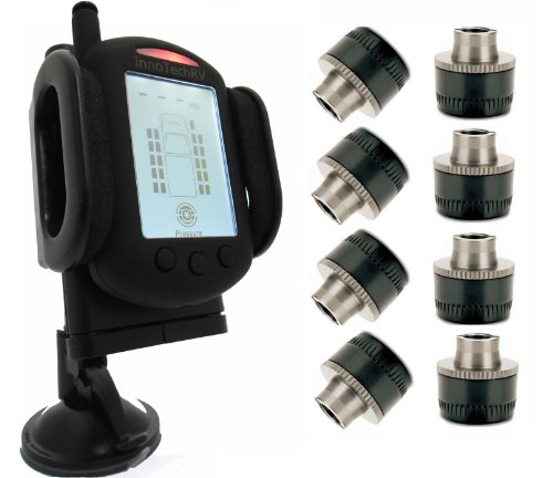 Tire Pressure Monitoring System for RVs and Trucks with 8 Sensors