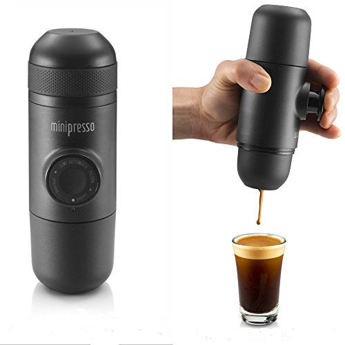 Mini Hand-pump Expresso Coffee Machine For Convenient Hiking and Travel (Expresso Machine Portable compare prices)