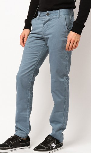 Jack & Jones Herren Hose BOLTON EDWARD Chino Provincial Blue Slim Fit (32/32)
