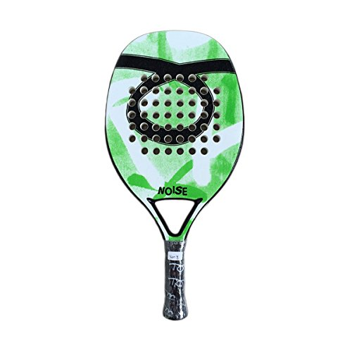 TOM CARUSO beach tennis racket NOISE GREEN base Racchetta
