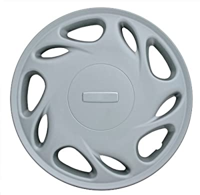 CCI IWC184-15SN 15 Inch Clip On Silver Finish Hubcaps - Pack of 4