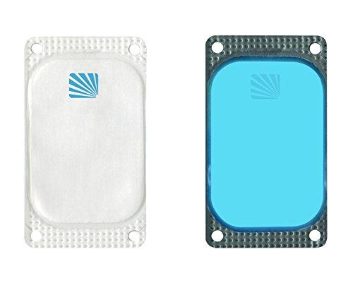 cyalume-rechteckigen-aufklebbaren-visipad-leuchtbaken-leuchtdauer-10-stunden-blau-25-er-pack