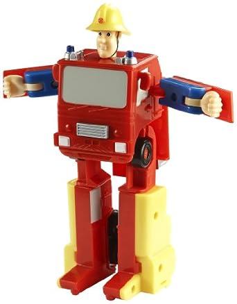 Sam le pompier camion de pompier jupiter transformable 17 cm jeux et jouets - Camion pompier sam ...