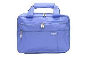 Baggallini Luggage Complete Cosmetic Bag, Periwinkle, One Size