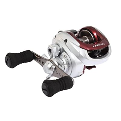 Shimano Caenan 100 Baitcasting Reel (6.5:1), Right Hand, 10 Pounds/155 Yards from Shimano