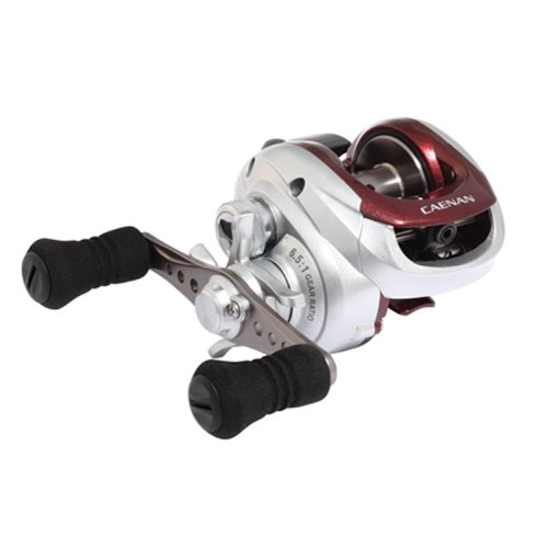 Shimano Caenan 100 Baitcasting Reel (6.5:1), Right Hand, 10 Pounds/155 Yards