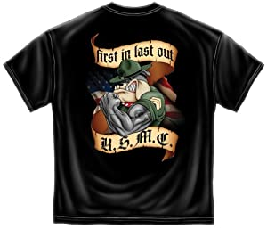 First In last Out Marine Corps T-Shirt