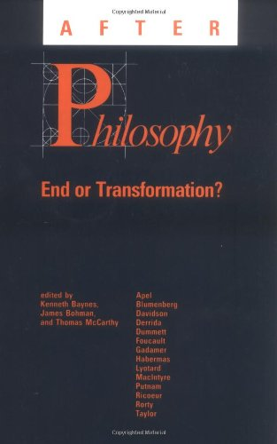 After Philosophy: End or Transformation?