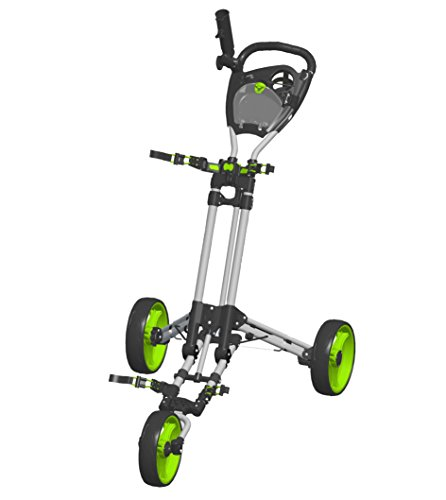 Spin-It-Golf-Products-Easy-Fold-Push-Cart-Silver