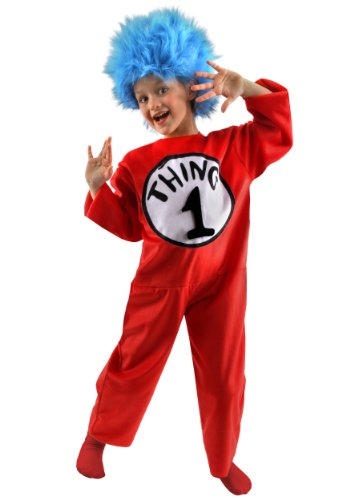 Big Boys' Thing 1 and 2 Costume
