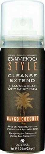 Alterna Bamboo Style Cleanse Extend Translucent Dry Shampoo Mango Coconut, 1.25 oz