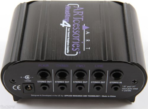 Art Headamp4 4-Channel 8-Output Headphone Amplifier