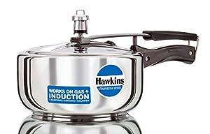 Hawkins Stainless Steel 3.0 Litre Pressure Cooker