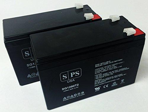 Sps Brand Ge Digital Energy Vh 3000 Va 12V 9Ah Ups Replacement Battery ( 2 Pack)