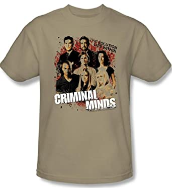Amazon.com: Criminal Minds - Solution Lies Within Men's T