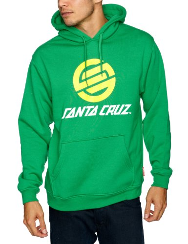 SANTA CRUZ Stripknot Hood 2 Men's Sweatshirt Irish Green Small