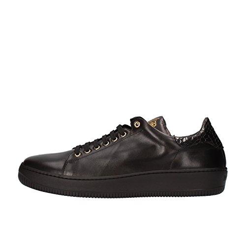 cesare-paciotti-sneakers-hombre-42-eu-negro-cuero-af144