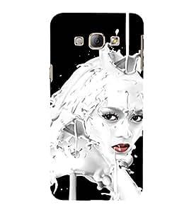 EPICCASE Milky face art Mobile Back Case Cover For Samsung Galaxy A5 (Designer Case)