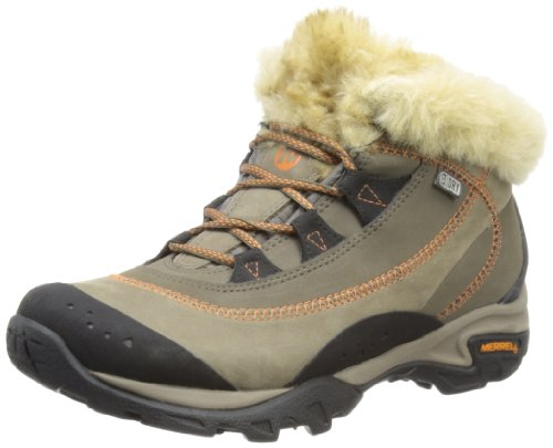 Merrell Womens Snowbound Drift Mid WTPF J48974 Merrell Stone Trekking and Hiking Boots 6 UK, 39 EU