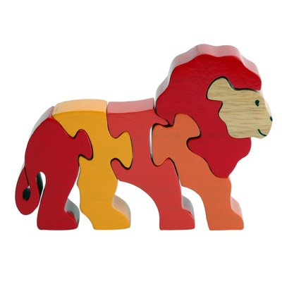 Cheap ImagiPLAY Lion – 3D Wooden Puzzle (B000X8GU9Y)