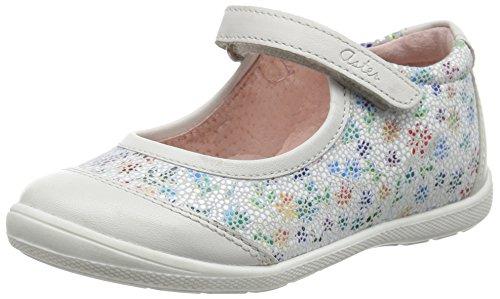 AsterGwen - Bebè Bambina , Bianco (Blanc (Blanc Fleur)), 34