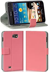 Luxmo Dolce Case w/ Stand for Samsung Galaxy Note (GT-N7000 & i717) Pink