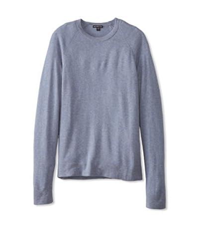 James Perse Men's Cashmere Raglan Crew Sweater