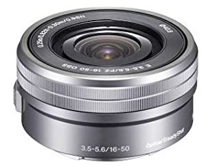 Sony SELP1650 16-50mm Power Zoom Lens (Silver)
