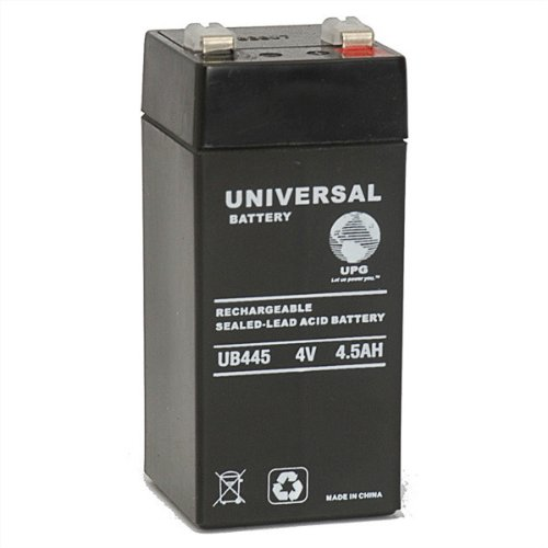 Universal Power Group 85923 Sealed Lead Acid Battery (4 Volt Sealed Lead Acid Battery compare prices)