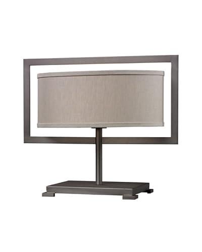 Artistic Lighting 1-Light Table Lamp, Graphite