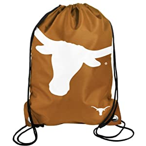 Buy Forever Collectibles NCAA Texas Longhorns Drawstring Backpack by Forever Collectibles