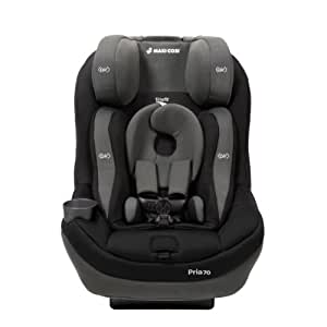 2014 Maxi-Cosi Pria 70 with Tiny Fit Convertible Car Seat, Total Black (Prior Model)