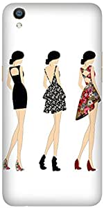 Backless Dresses by Angana Printed Back Cover Case For Oppo F1 Plus