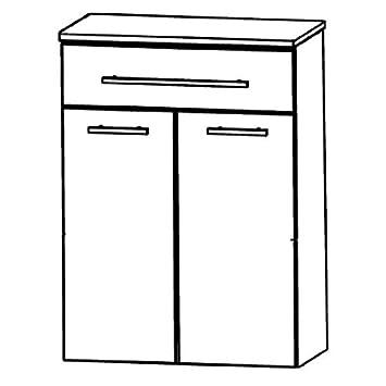 Puris Speed (HBA556AW Bathroom Cabinet 60 CM