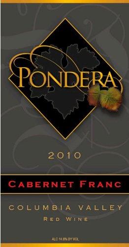 2010 Pondera Winery Cabernet Franc 750 Ml